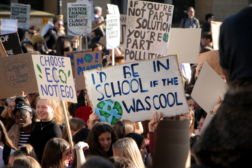 Image result for students striking for climate change