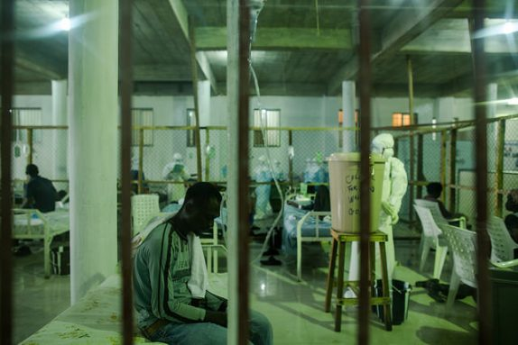 Ebola treatment facility