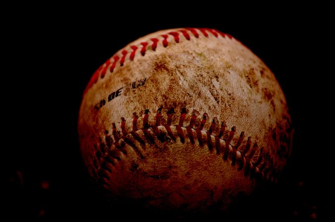 The 108 stitches on a baseball can slow it down and cause it to move in unexpected directions. Credit: Sean Winters/flickr