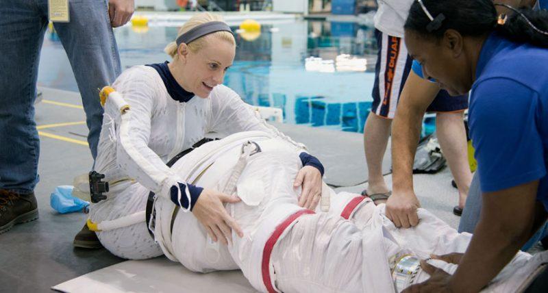 Meski berada di luar angkasa, Astronot NASA Kate Rubins akan tetap nyoblos