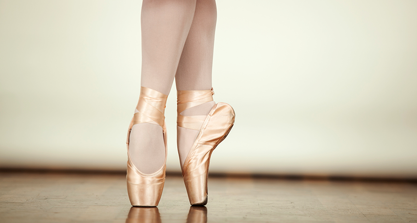 Science May Help Keep A Ballerina On Her Toes Science News For Students