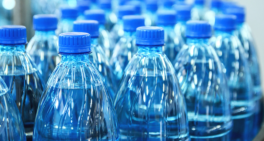Plastic taints most bottled water, study finds | Science News for Students