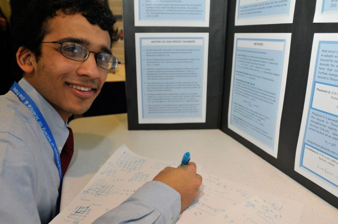 "Anirudh Prabhu, 17, studies ""perfect"" numbers, the smallest of which is 6."