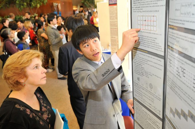 Sitan Chen, 17, studies a field of math called graph theory