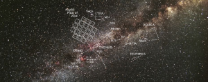 This photo shows the tiny patch of sky around the Milky Way that the Kepler space telescope constantly studies. Credit Carter Roberts