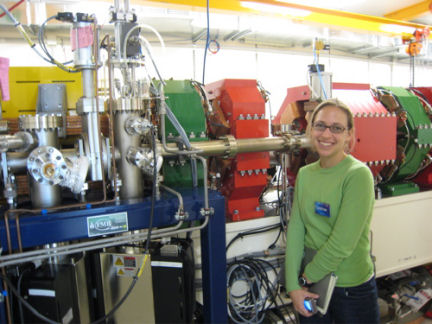 SNK reporter Emily Sohn marvels at the complexity of the Australian synchrotron.