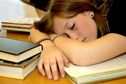 Scientists hope to understand why most teenagers don't get enough sleep at night, and how too little sleep affects their well-being.