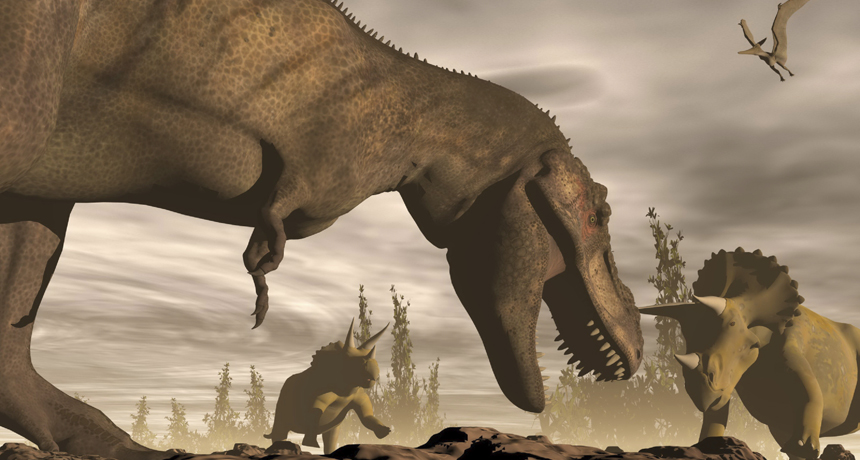 Hot-blooded dinos? Try lukewarm | Science News for Students