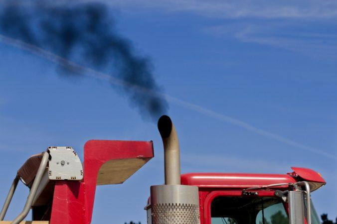 tractor exhaust
