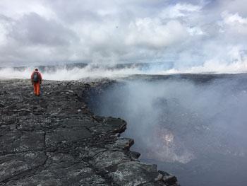 volcano scientist