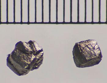 microscopic diamonds