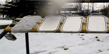 snow repellant