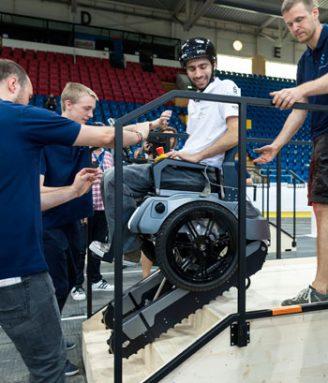 stair-climbing wheelchair