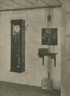 clock and Morse code