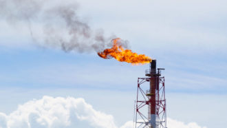 Fossil fuels appear to release far more methane than we thought