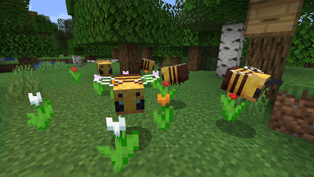 Minecraft s big bees don t exist but giant insects once did