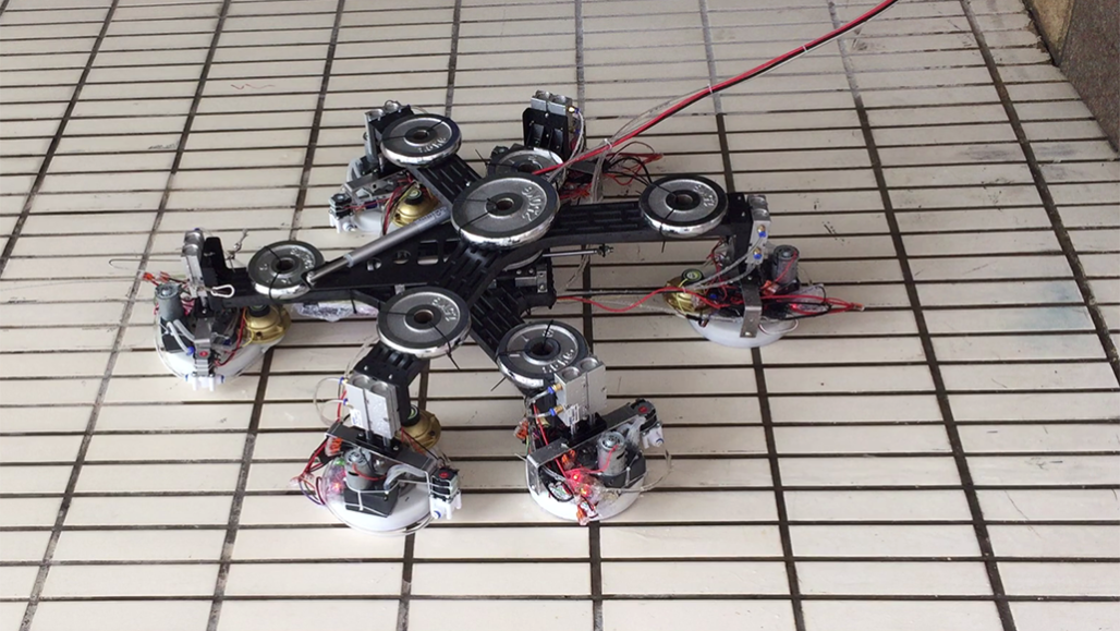 Climb Like A Slo Mo Spiderman Using This Super Suction Robot Science News For Students
