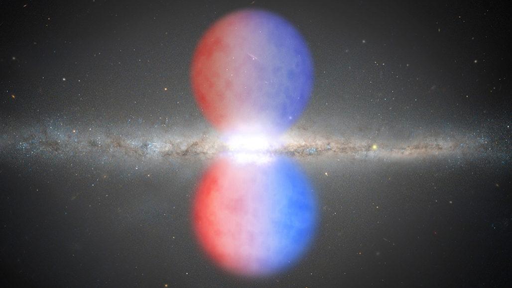 Milky Way's giant gas bubbles in visible light 060520_ec_fermibubble_feat-1028x579
