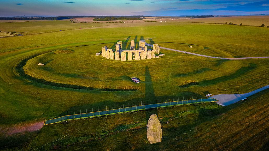 Underground mega-monument found near Stonehenge