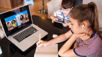 Healthy screen time is one challenge of distance learning