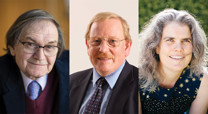 Nobel Prize in Physics 2020 winners Roger Penrose, Reinhard Genzel and Andrea Ghez