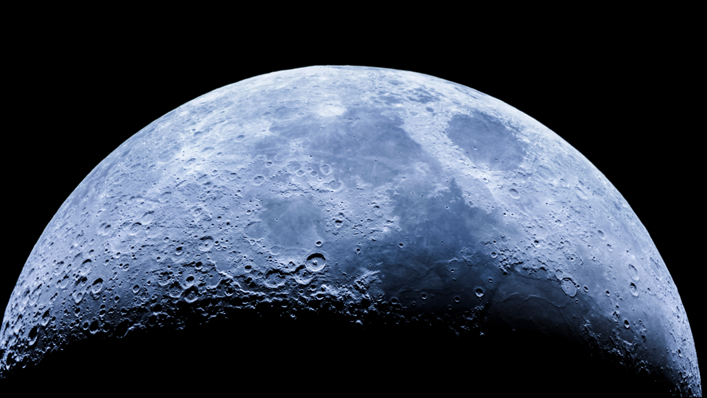 There's water on sunny parts of the moon, scientists confirm
