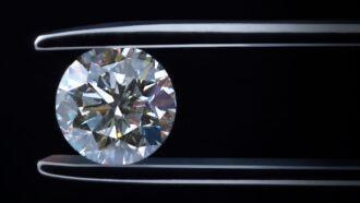 Extreme pressure? Diamonds can take it