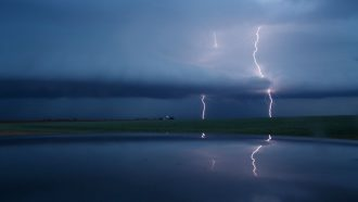 Here's how lightning may help clean the air