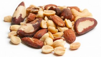 Why big nuts always rise to the top