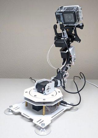 a photo of John's robotic arm