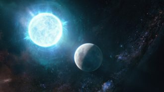 Moon-sized white dwarf is the smallest ever found