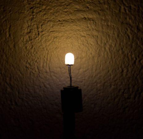 a warm white led