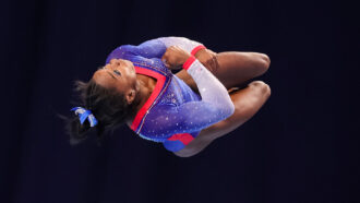What happened when Simone Biles got the twisties at the Olympics?