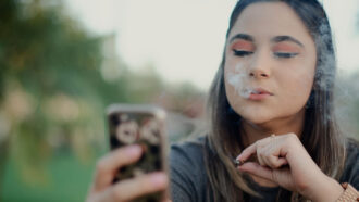 Cannabis may alter a teen's developing brain