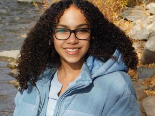 Amarin Gifford, 13, of Aurora, Colorado