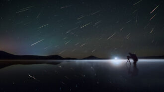 Let's learn about meteor showers